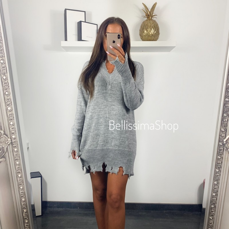 ROBE PULL DESTROY GRIS
