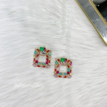 BOUCLES MANI MULTICOLORE