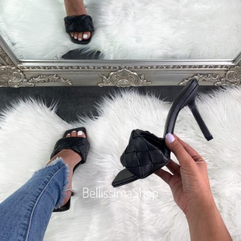 MULES VERONICA BLACK