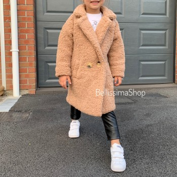 MANTEAU TEDDY BABY