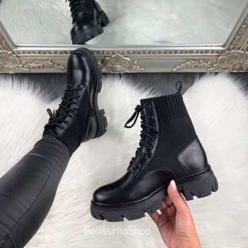 BOTTINES ANI BLACK