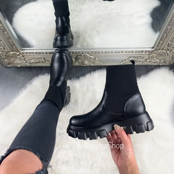 BOTTINES SONIA CHAUSSETTE