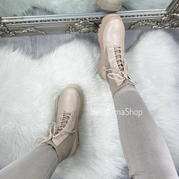 BOTTINES CYNTHIA BEIGE