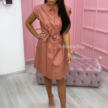 ROBE SIMILI BOIS DE ROSE