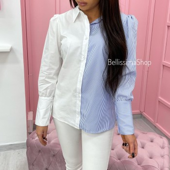 CHEMISE BLANCHE RAYURES
