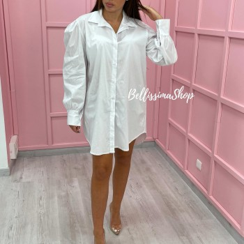 CHEMISE BLANCHE MANCHES...